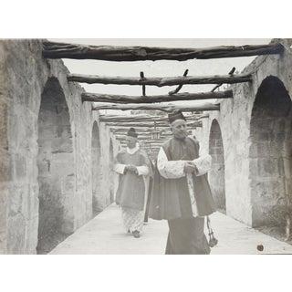 Circa 1950s Photograph Spanish Mission Portico Processional For Sale