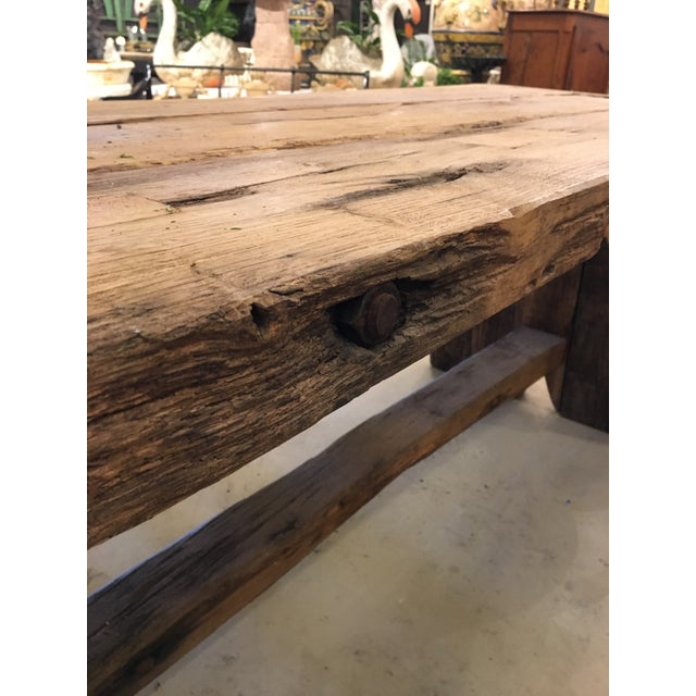 Primitive Spanish TABLE - Image 5 of 9