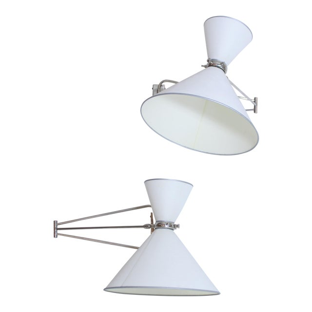 Multi Articulated Lunel Sconces For Sale