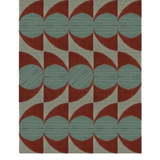 Covet Paris James Geometric Rug - 6′7″ × 9′10″ For Sale