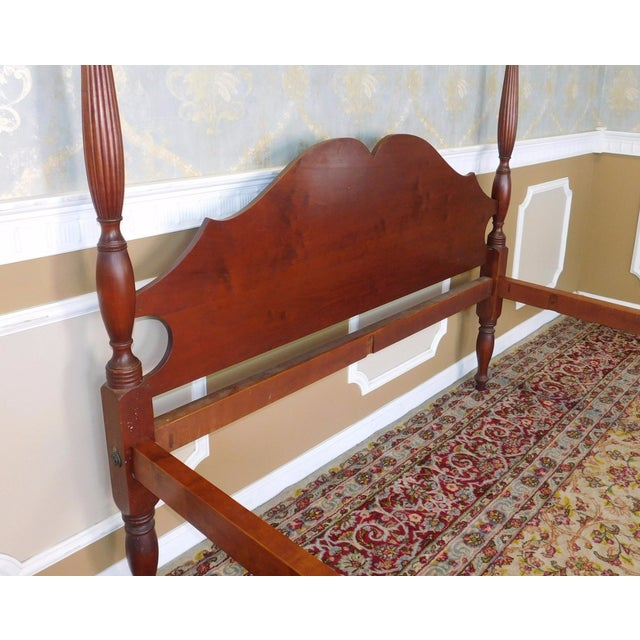Eldred Wheeler Colonial Queen Poster Bed For Sale - Image 7 of 11