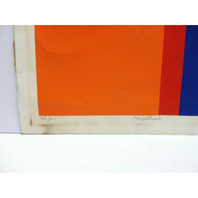 """Late 20th Century """"Masthead"""" C. Lenard Limited Edition Signed & Numbered Print For Sale - Image 4 of 8"""