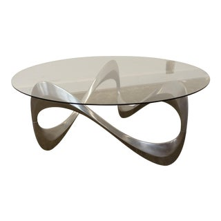 Mid-Century Modern Knut Hesterberg Snake Coffee Table For Sale