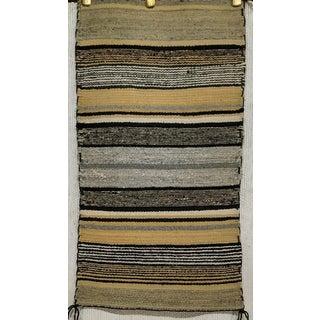 "Vintage Navajo Handmade Tribal Rug - 1'5"" X 2'7"" Preview"