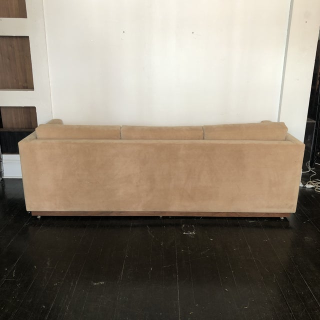 Mid-Century Modern 1960s Mueller Widdicomb Plinth Base Sofa For Sale - Image 3 of 13