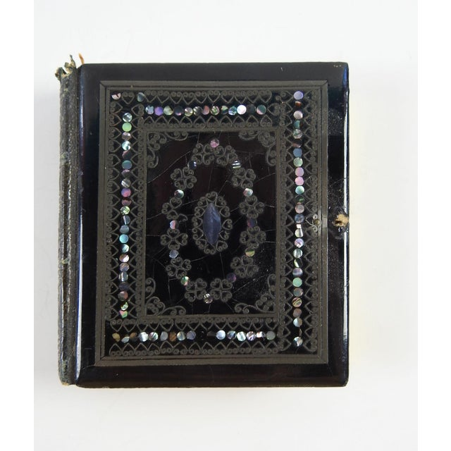 Mother of Pearl & Silver Inlay Daguerreotype Case - Image 3 of 6