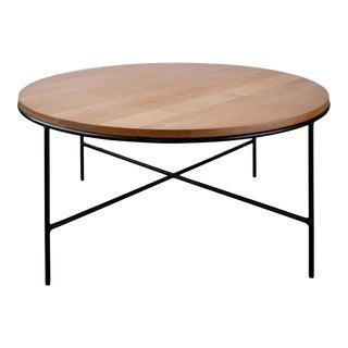 1953 Paul McCobb Planner Group Birch and Iron Coffee Table For Sale
