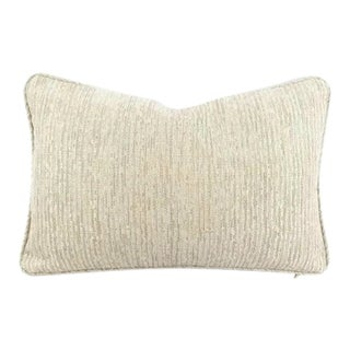 Gp & J Baker Esker Marble Self-Welt Lumbar Pillow Cover For Sale
