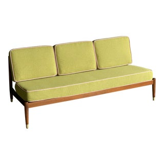 Dux Swedish Mid Century Armless Sofa For Sale