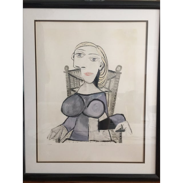 Pablo Picasso Femme Blonde Lithograph - Image 2 of 4