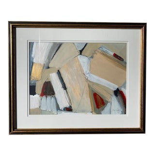 Beth Downey Mixed Media Modern Painting For Sale