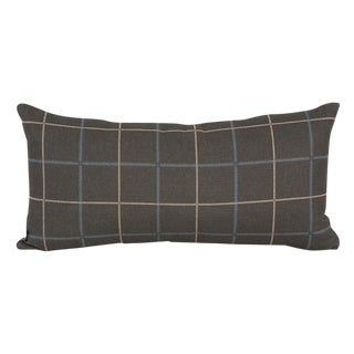 Oxford Slate Down Pillow For Sale
