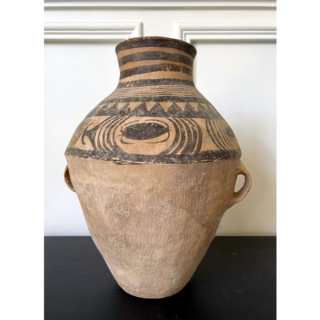 Chinese Neolithic Painted Pottery Jar For Sale - Image 9 of 13