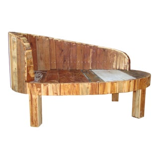Hand-Made Lounge Chair For Sale