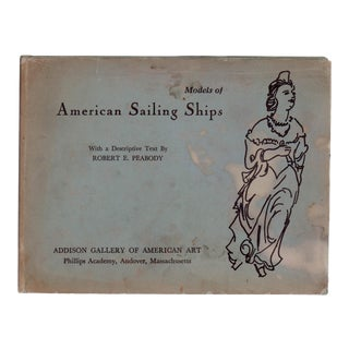 "1961 ""Models of American Sailing Ships"" Collectible Book For Sale"