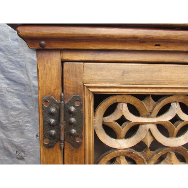 Spanish Carved Buffet - Image 3 of 8