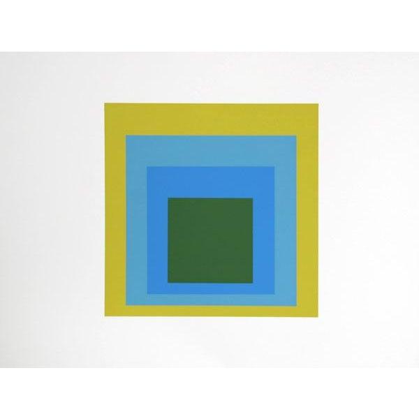 "Josef Albers ""Portfolio 1, Folder 5, Image 1"" Screen Print - Image 2 of 2"