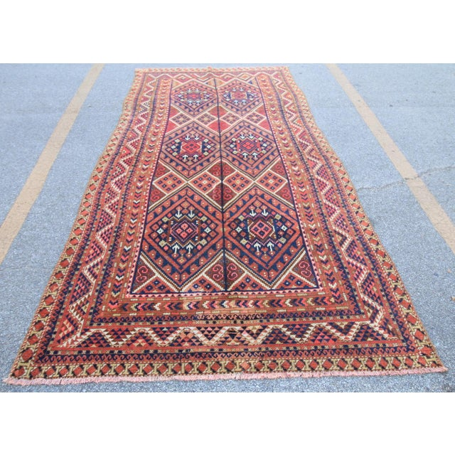 Tribal antique Turkmen rug from 1920s. Antique Turkoman rugs are quite popular pieces, They are mostly tribe Rugs, Each...