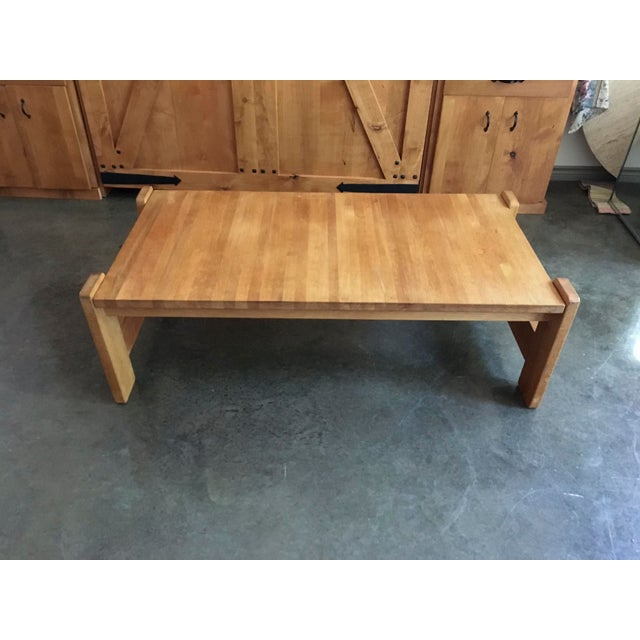 Danish Modern Wooden Coffee Table - Image 6 of 7