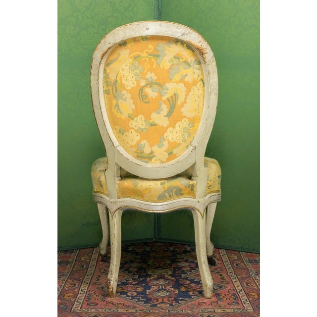 Pair of Louis XV Style Side Chairs For Sale In New York - Image 6 of 11