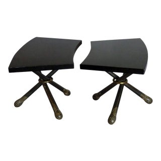 Pair of Mildred Warder Occasional Tables For Sale