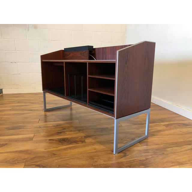 Bang And Olufsen Mid Century Rosewood Stereo Cabinet