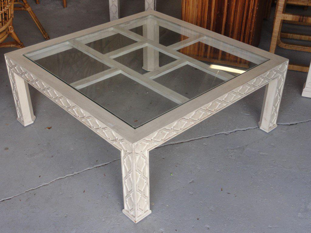 Palm Beach Regency Fretwork Coffee Table   Image 3 Of 6