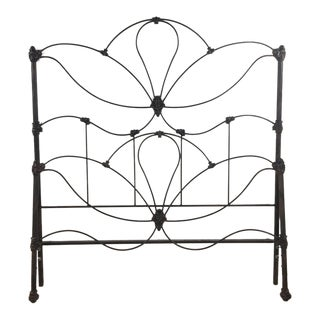 Vintage Metal Full Size Bed Frame