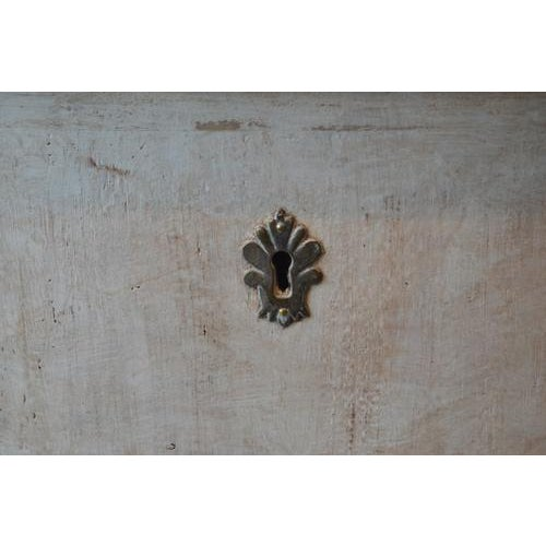 White Italian White Painted Three Drawer Chest For Sale - Image 8 of 12