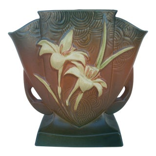 Roseville Zephyr Lily Vase For Sale