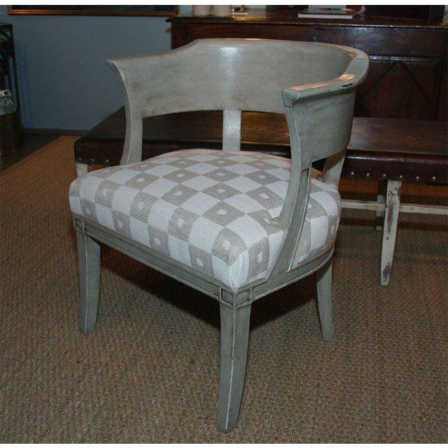 Pair of French Armchairs For Sale - Image 9 of 10