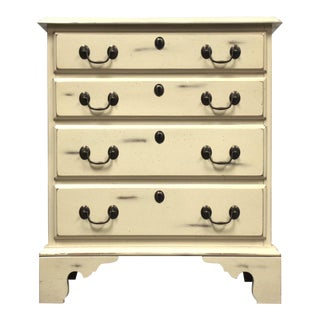White Shabby Chic Dresser by Harden Furniture For Sale