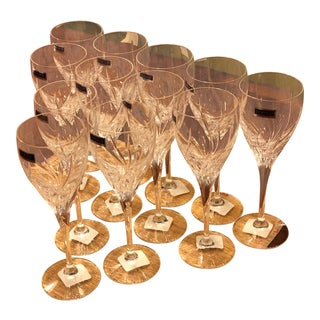 Marquis Crystal Goblets by Waterford - Set of 12 For Sale
