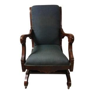 Victorian Era Platform Rocking Chair