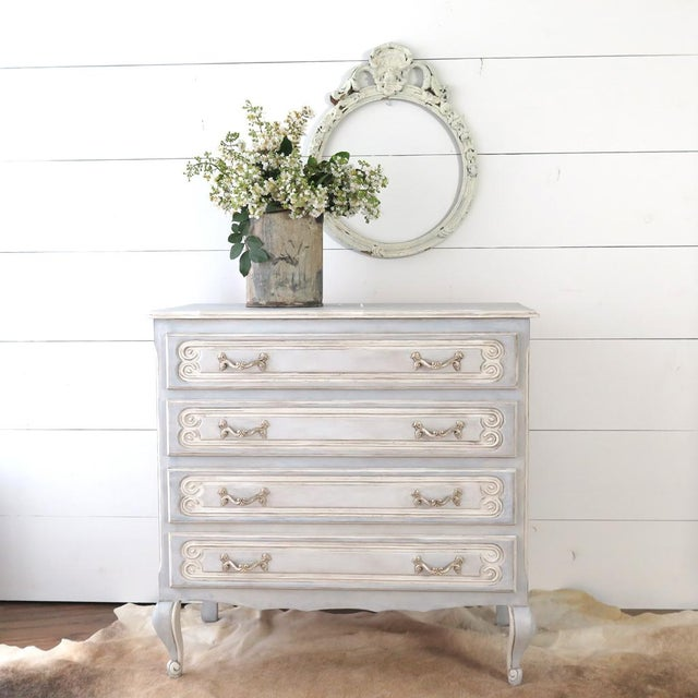French Blue Commode - Image 3 of 11