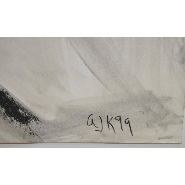 Charcoal & Pastel on Paper by Arthur J. Krakower - Image 4 of 5