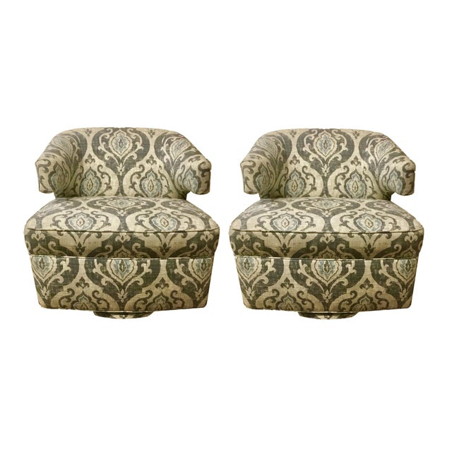 BSC Julie Swivel Chairs - A Pair - Image 7 of 7