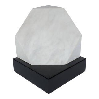 "Max Bill Mid-Century Modernist Marble Sculpture ""Kubus"", 1966 For Sale"