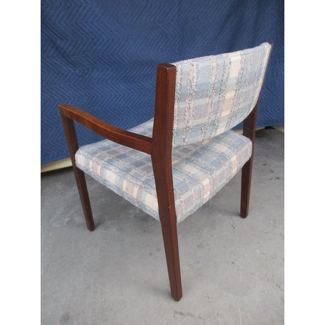 Risom Marble Armchairs and Side Chairs -Set of Five For Sale - Image 6 of 11