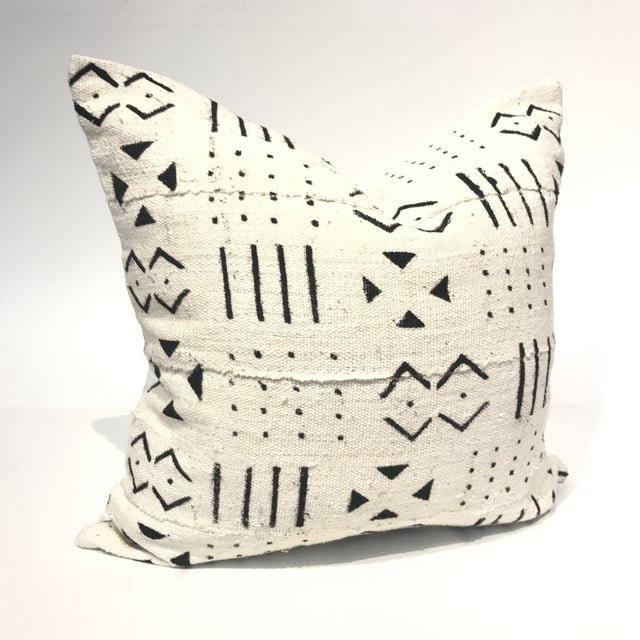 African Mud Cloth Pillow Cover - Image 2 of 4