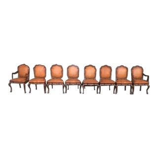 1970s Vintage Therien Studio Workshop High End Dining Chairs - Set of 8 For Sale
