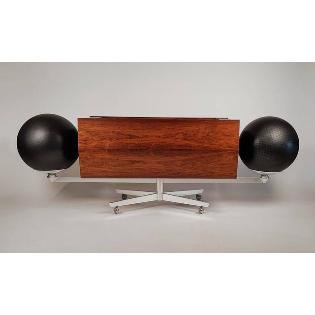Contemporary First Generation Clairtone Project G T4 Rosewood Stereo System For Sale - Image 3 of 11
