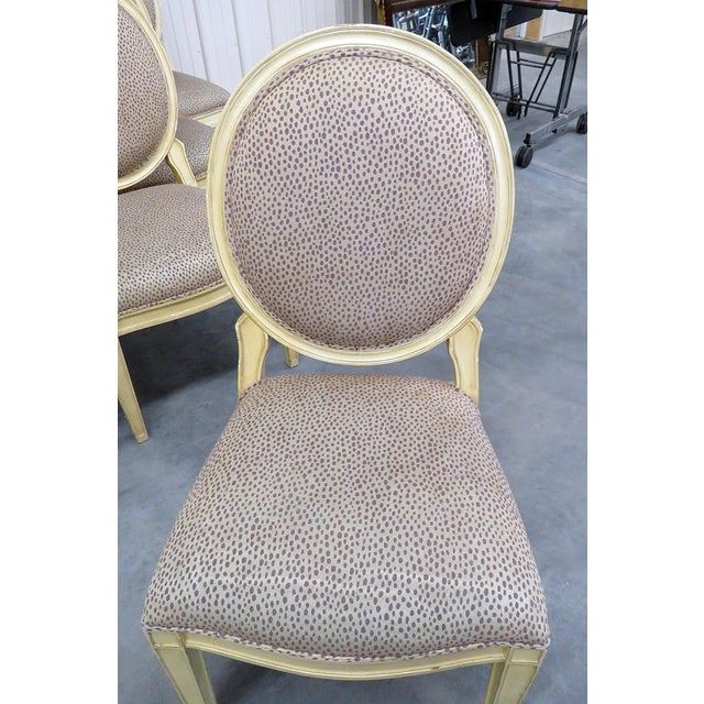Early 20th Century Set of 10 Louis XIV Style Dining Side Chairs For Sale - Image 5 of 13