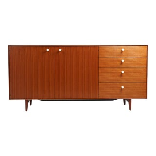 1960's Vintage George Nelson Herman Miller Thin Edge Credenza For Sale