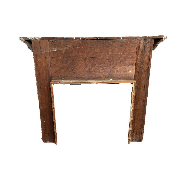 English 1900s Fireplace Mantel / Architectural Remnant For Sale - Image 3 of 3
