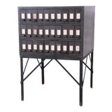Image of Industrial Age 30-Drawer Parts Cabinet For Sale