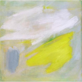 """South Facing"" by Trixie Pitts Small Abstract Oil Painting For Sale"