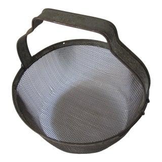 Vintage Egg Basket For Sale