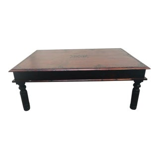 20th Century Anglo-Indian Teak Coffee Table For Sale