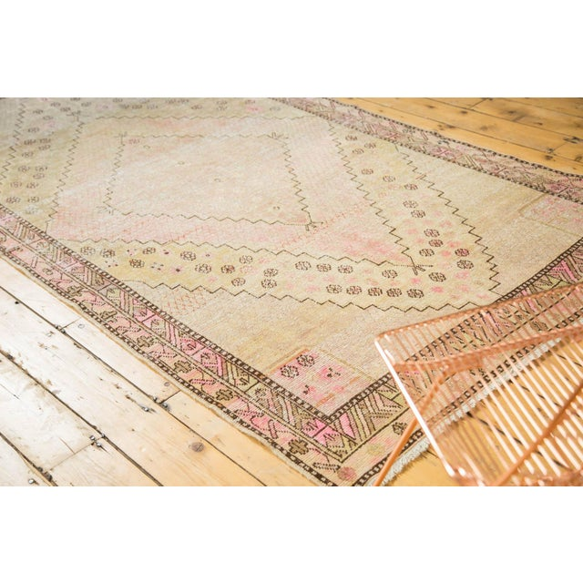 "Vintage Distressed Khotan Rug - 4'7"" x 8'9"" - Image 2 of 10"